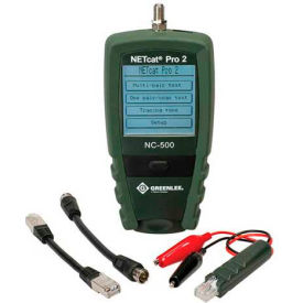 NC-500 Greenlee NC-500 Netcat Pro Nc-500 Structured Wiring Troubleshooter
