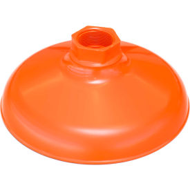 guardian equipment abs plastic shower head, 10?, orange, replacement Guardian Equipment ABS Plastic Shower Head, 10?, Orange, Replacement