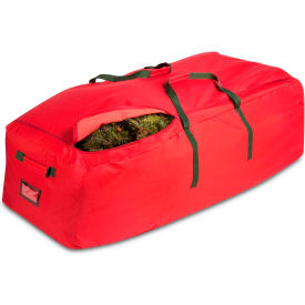 SFT-02316 Holiday 9 Artificial Tree Storage Bag, Red/Green Trim