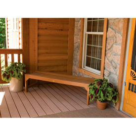 highwood® 4 lehigh backless outdoor bench, eco friendly synthetic wood in toffee highwood® 4 Lehigh Backless Outdoor Bench, Eco Friendly Synthetic Wood In Toffee