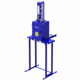 herkules™ paint can crusher with stand, 3-3/4 tons force - hcr1 Herkules™ Paint Can Crusher with Stand, 3-3/4 Tons Force - HCR1