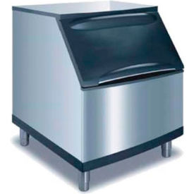 manitowoc ice d-400 ice bin, stainless steel exterior, top-hinged front opening access door Manitowoc Ice D-400 Ice Bin, Stainless Steel Exterior, Top-Hinged Front Opening Access Door