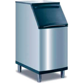 manitowoc ice d-420 ice bin, stainless steel exterior, top-hinged front opening access door Manitowoc Ice D-420 Ice Bin, Stainless Steel Exterior, Top-Hinged Front Opening Access Door