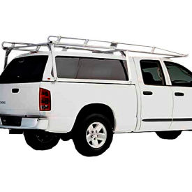 aluminum hauler ii camper shell rack - standard cab 8 bed/ext./crew cab with 6.5 bed c11u2873-1 Aluminum Hauler II Camper Shell Rack - Standard Cab 8 Bed/Ext./Crew Cab With 6.5 Bed C11U2873-1