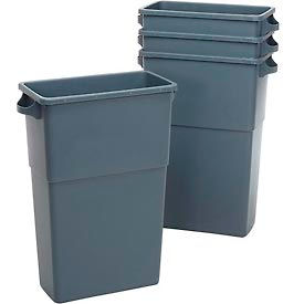 7023-3 Impact; Thin Bin; Container - 23 Gallon, Gray, 7023-3
