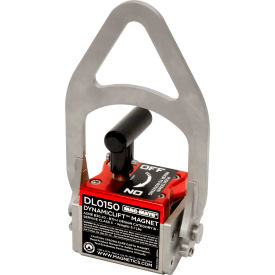 mag-mate® dynamiclift™ dl0150 manual lifting magnet 150 lbs. capacity MAG-MATE® DynamicLift™ DL0150 Manual Lifting Magnet 150 Lbs. Capacity