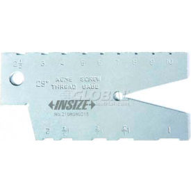 insize pitch gage, 4812-12, metric 30° thread, 2-12mm range