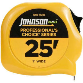 1803-0025 Johnson Level 1803-0025 25 Professionals Choice Power Tape
