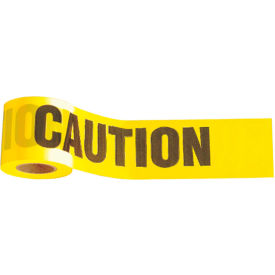 "3321 300 x 3"" Yellow ""CAUTION - CUIDADO"" Tape, 1 Roll"