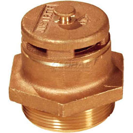 08101 Justrite; 8101 Brass Vertical Safety Drum Vent for Petroleum Based Applications