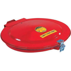 26752 Justrite; 26752 Manual Drum Lid with Gasket and Vent for 55 Gallon Drums