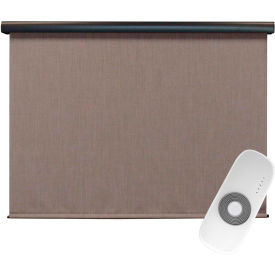 keystone fabrics regal rechargeable motorized outdoor sun shade w/ protective valance, 4x8,sandstone Keystone Fabrics Regal Rechargeable Motorized Outdoor Sun Shade W/ Protective Valance, 4X8,Sandstone