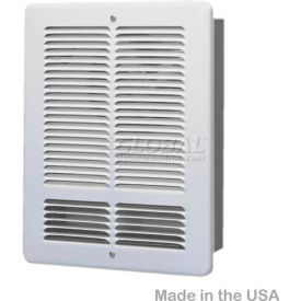 W2415-W King Forced Air Wall Heater W2415-W, 1500W, 240V, White