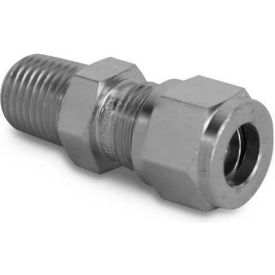"koolfog 06c04mc-316 3/8"" compression x 1/4"" male connector, 316 ss Koolfog 06C04MC-316 3/8"" Compression x 1/4"" Male Connector, 316 SS"