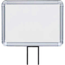 "lavi industries, horizontal fixed sign frame, 50-1141f12h/cl, 8.5"" x 11"", unslotted, chrome Lavi Industries, Horizontal Fixed Sign Frame, 50-1141F12H/CL, 8.5"" x 11"", Unslotted, Chrome"