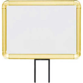 "lavi industries, horizontal fixed sign frame, 50-1141f12h/gd, 8.5"" x 11"", unslotted, gold Lavi Industries, Horizontal Fixed Sign Frame, 50-1141F12H/GD, 8.5"" x 11"", Unslotted, Gold"