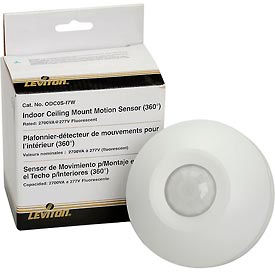 ODC0S-I7W Leviton ODC0S-I7W Ceiling Mount Self-Contained Occupancy Sensor, 277VAC, White