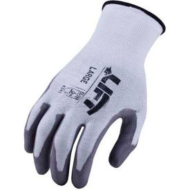 GSL-12WL Lift Safety Cut Resistant Staryarn Polyurethane Latex Glove, Large, GSL-12WL