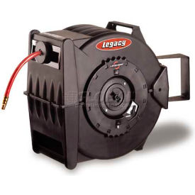 "L8306 Legacy; L8306 3/8""x 75 350 PSI Enclosed Chassis Spring Retractable Composite Hose Reel"