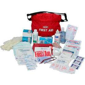 mayday guardian first aid fanny pack, fa-tk8g, 48 pieces