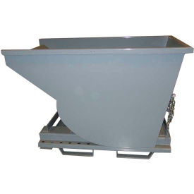 1120GY 3-Way Forklift Entry Option for Wright Self-Dumping Hoppers - Gray