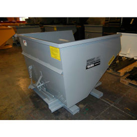 1160GY Stacking Feature for 1-1/2 Cu Yd and Larger Wright Self-Dumping Hoppers - Gray