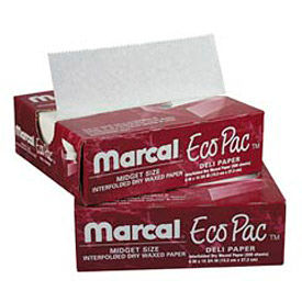 eco-pac natural interfolded dry wax paper Eco-Pac Natural Interfolded Dry Wax Paper
