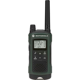 T465 Motorola Talkabout; T465 Two-Way Radios, Green/Black - 2 Pack