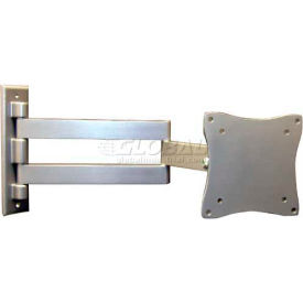 "mg electronics swing arm wall bracket for 13""-24"" flat panel monitors MG Electronics Swing Arm Wall Bracket For 13""-24"" Flat Panel Monitors"