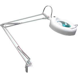 8 diopter led magnifying lamp - white 8 Diopter LED Magnifying Lamp - White
