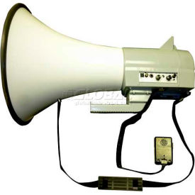 45 watt piezo dynamic megaphone with built-in siren & hand-held mic 45 Watt Piezo Dynamic Megaphone With Built-In Siren & Hand-Held Mic