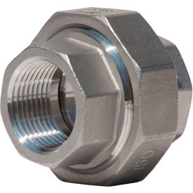 K487-16 1 In. 304 Stainless Steel Union - FNPT - Class 150 - 300 PSI - Import