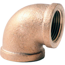 XNL101-12 3/4 In. Lead Free Brass 90 Degree Elbow - FNPT - 125 PSI - Import