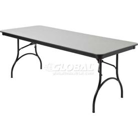 "mity-lite abs folding tables - rectangle - 30""x 72"" black texture Mity-Lite ABS Folding Tables - Rectangle - 30""X 72"" Black Texture"