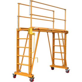 "paragon pro tele-tower® adjustable work platform, 80""l x 40""w x 118""h Paragon Pro Tele-Tower® Adjustable Work Platform, 80""L x 40""W x 118""H"
