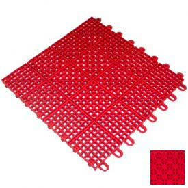 "mateflex ii outdoor tennis tile 350028, 12""l x 12""w, bright red Mateflex II Outdoor Tennis Tile 350028, 12""L X 12""W, Bright Red"