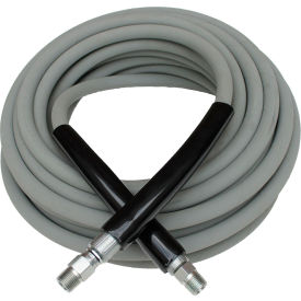 "29.5213 MTM Hydro Kobrajet 4000 psi 310 Degree 3/8""x75 Gray Pressure Washing Hose"