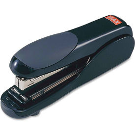 max usa flat clinch stapler 30 sheet capacity black Max USA Flat Clinch Stapler 30 Sheet Capacity Black
