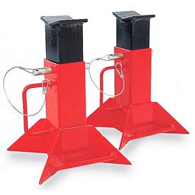 5 ton fork lift jack stands - sold as pair 5 Ton Fork Lift Jack Stands - Sold as Pair