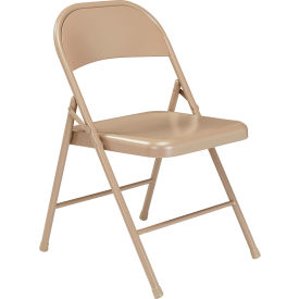 901 Steel Folding Chair - Beige