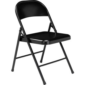 910 Steel Folding Chair - Black