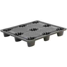 "nestable thermoformed plastic industrial pallet 48"" x 40"", 2,500 lb fork capacity Nestable Thermoformed Plastic Industrial Pallet 48"" x 40"", 2,500 lb Fork Capacity"
