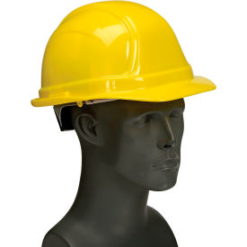 V200-09 Vulcan Basic Hard Hat with Ratchet Suspension, Yellow
