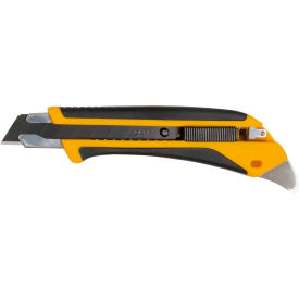 1072198 OLFA; 1072198 Fiberglass Rubber Grip Utility Knife - Black/Yellow