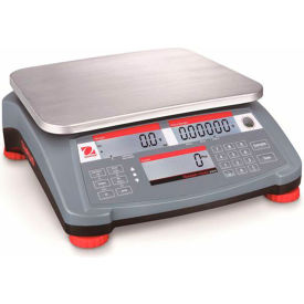 "Ohaus® Ranger Count 3000 Compact Digital Counting Scale 3lb x 0.0001lb 11-13/16"" x 8-7/8"""
