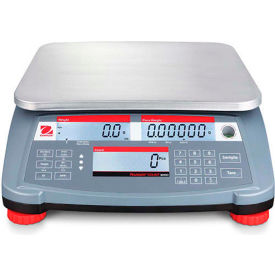 "30031789 Ohaus Ranger Count 3000 Compact Digital Counting Scale 15lb x 0.0005lb 11-13/16"" x 8-7/8"""