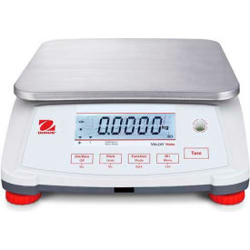 "Ohaus® Valor 7000 Compact Food Digital Scale 30 Lbs x 0.001 Lbs 11-13/16"" x 8-7/8"" Platform"