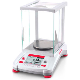 "Ohaus® AX223/E Adventurer Precision Balance w/ Manual Calibration 220g x 0.001g 5-1/8"" Diameter"