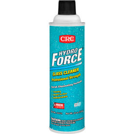 crc hydroforce® professional glass cleaner, 18 oz. aerosol can - 125-14412 CRC HydroForce® Professional Glass Cleaner, 18 oz. Aerosol Can - 125-14412