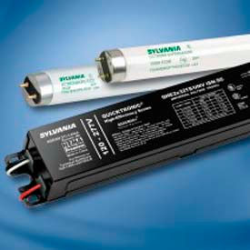 49857 Sylvania 49857 QHE 4X32T8/UNV ISN-SC32 T8 High Efficiency -Normal Ballast Factor-Small Can